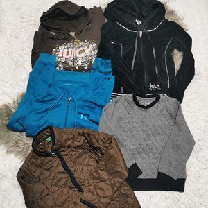 Girls Sweater Lot Under Armour, Fila, Juicy